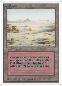 Badlands, Magic: The Gathering, Unlimited Edition