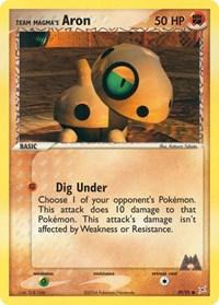 Team Magma's Aron (59), Pokemon, Team Magma vs Team Aqua
