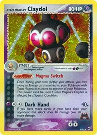 Team Magma's Claydol (8), Pokemon, Team Magma vs Team Aqua