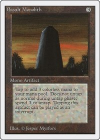 Basalt Monolith, Magic, Unlimited Edition