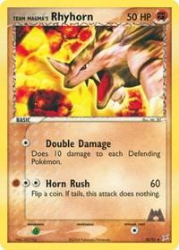 Team Magma's Rhyhorn (38), Pokemon, Team Magma vs Team Aqua