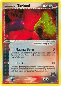 Team Magma's Torkoal, Pokemon, Team Magma vs Team Aqua