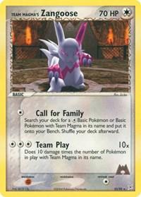 Team Magma's Zangoose, Pokemon, Team Magma vs Team Aqua