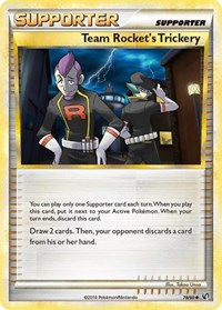 Team Rocket's Trickery, Pokemon, Undaunted