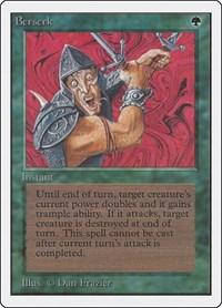 Berserk, Magic, Unlimited Edition