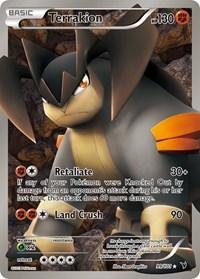 Terrakion (99 Full Art), Pokemon, Noble Victories