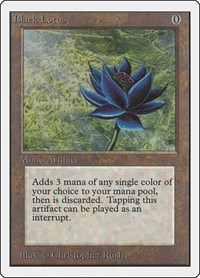 Black Lotus, Magic: The Gathering, Unlimited Edition
