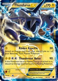 Thundurus EX (Team Plasma), Pokemon, Plasma Freeze
