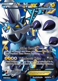 Thundurus EX (Team Plasma) (110 Full Art), Pokemon, Plasma Freeze