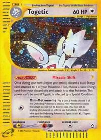 Togetic (H27), Pokemon, Aquapolis