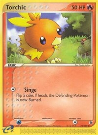 Torchic (74), Pokemon, Ruby and Sapphire
