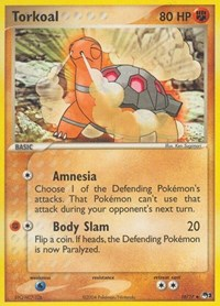 Torkoal, Pokemon, POP Series 1