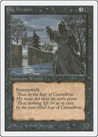Bog Wraith, Magic: The Gathering, Unlimited Edition