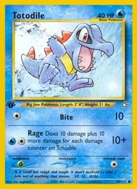 Totodile (80), Pokemon, Neo Genesis