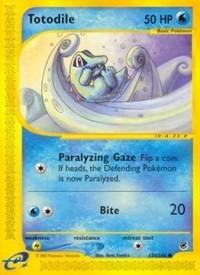 Totodile (135), Pokemon, Expedition