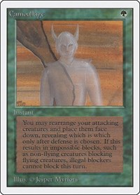 Camouflage, Magic: The Gathering, Unlimited Edition