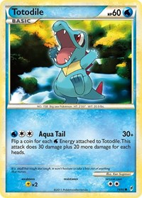 Totodile, Pokemon, Call of Legends