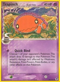 Trapinch (69 - Delta Species), Pokemon, Dragon Frontiers