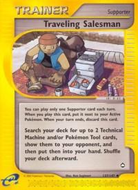 Traveling Salesman, Pokemon, Aquapolis