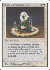 Circle of Protection: Blue, Magic: The Gathering, Unlimited Edition