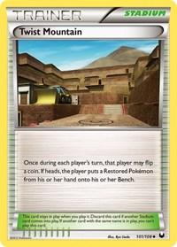 Twist Mountain, Pokemon, Dark Explorers