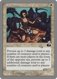 Sex Appeal, Magic: The Gathering, Unglued