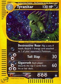 Tyranitar (H28), Pokemon, Aquapolis
