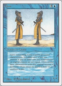 Clone, Magic, Unlimited Edition