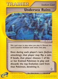 Undersea Ruins, Pokemon, Aquapolis