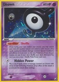 Unown  (J), Pokemon, Unseen Forces