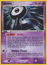 Unown  (L), Pokemon, Unseen Forces