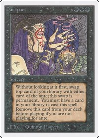 Darkpact, Magic: The Gathering, Unlimited Edition