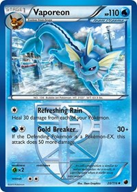 Vaporeon (Team Plasma), Pokemon, Plasma Freeze