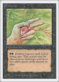 Deathgrip, Magic: The Gathering, Unlimited Edition