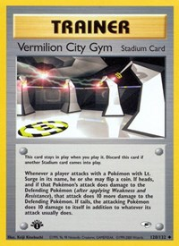 Vermilion City Gym, Pokemon, Gym Heroes