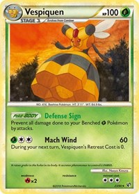 Vespiquen, Pokemon, Undaunted
