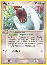 Vigoroth, Pokemon, Deoxys
