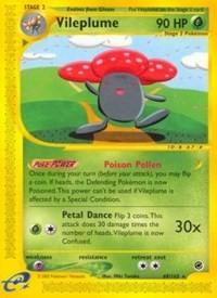 Vileplume (69), Pokemon, Expedition