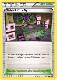 Virbank City Gym, Pokemon, Plasma Storm