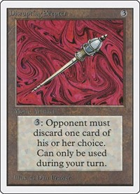 Disrupting Scepter, Magic: The Gathering, Unlimited Edition