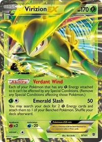 Virizion EX, Pokemon, Plasma Blast