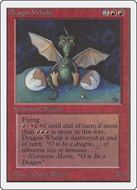 Dragon Whelp, Magic: The Gathering, Unlimited Edition