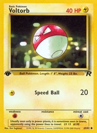 Voltorb, Pokemon, Team Rocket