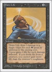 Drain Life, Magic, Unlimited Edition