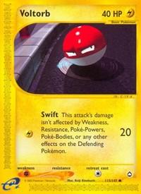 Voltorb (115), Pokemon, Aquapolis