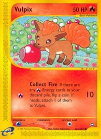 Vulpix, Pokemon, Aquapolis