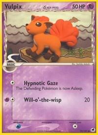 Vulpix (Delta Species), Pokemon, Dragon Frontiers