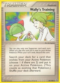 Wally's Training, Pokemon, Emerald