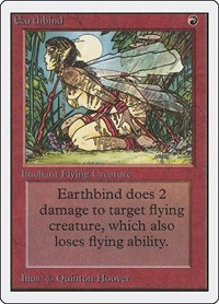 Earthbind, Magic: The Gathering, Unlimited Edition