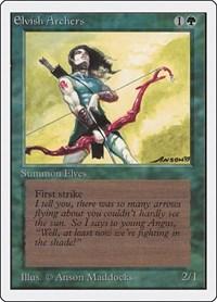 Elvish Archers, Magic, Unlimited Edition